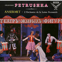 Stravinsky: Petrushka/Orchestre de la Suisse Romande conducted by Ansermet (LP)