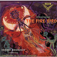 Stravinsky: The Firebird/Orchestre de la Suisse Romande conducted by Ansermet (LP)