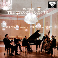 "Schubert: Quintet for Piano, Violin, Viola, Violoncello and Double-Bass (""Trout"" Quintet) - Sir Clifford Curzon and Members of the Vienna Octet"