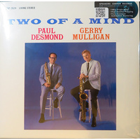 Paul Desmond & Gerry Mulligan: Two Of A Mind (LP)