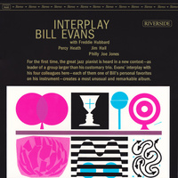 Bill Evans ‎– Interplay with Freddy Hubbard, Percy Heath, Jim Hall, Philly Joe Jones (2 LP)