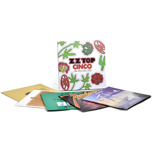 ZZ Top - Cinco: The First Five LPs (Box Set)