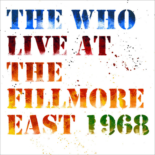 The Who: Live At The Fillmore East 1968 (3 LP)