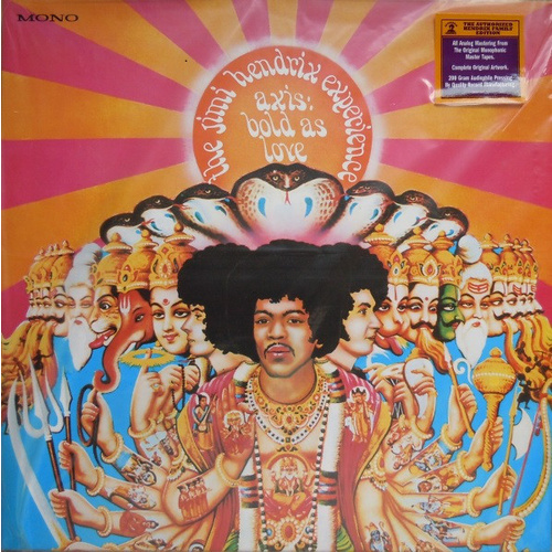 The Jimi Hendrix Experience: Axis, Bold As Love (Mono LP)
