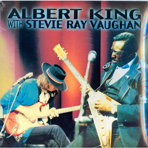 Albert King with Stevie Ray Vaughan: In Session (LP)