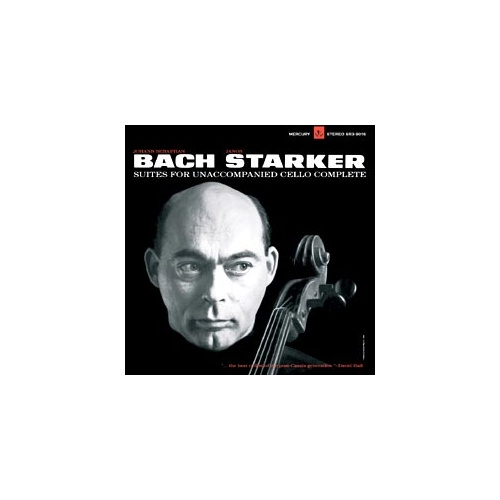 Johann Sebastian Bach: Suites 1-6 for solo Cello - Janos Starker  (3 LP)