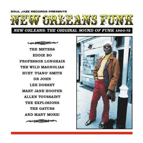 Soul Jazz Records Presents: New Orleans Funk (Various Artists) 3 LP SET
