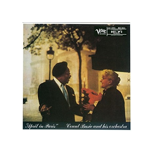 Count Basie and His Orchestra: April In Paris (LP)