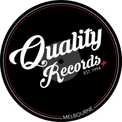Quality Records + Logo